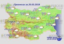 20 марта 2018 года, погода в Болгарии