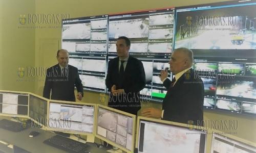 муниципальный центр видеонаблюдения в Бургасе