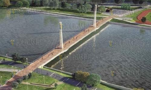 новый мост в Пазарджике