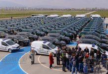 Пограничная полиция Болгарии получила 149 новых служебных авто