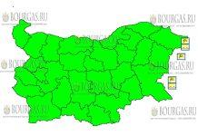 7 апреля 2018 года - ветреный Желтый код в Болгарии