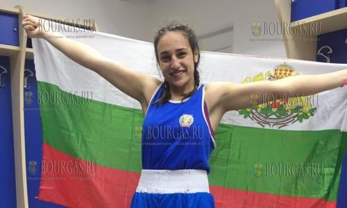 Мелиса Йонузова чемпионка Европы по боксу