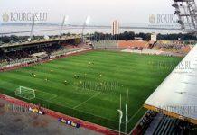 стадион Лазур в Бургасе