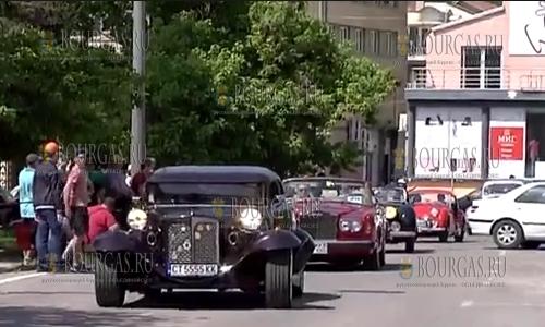 В Сливене прошел VII-й парад ретро-автомобилей