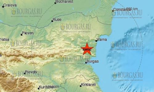 11 мая 2018 года в Болгарии произошло землетрясение 3,2 балла по шкале Рихтера