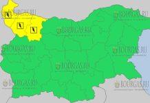 15 мая 2018 года - дождливый и грозовой Желтый код в Болгарии