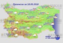18 мая 2018 года, погода в Болгарии