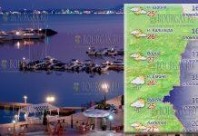 18 мая 2018 года, температура морской воды в Болгарии