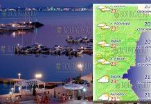 22 мая 2018 года, температура морской воды в Болгарии