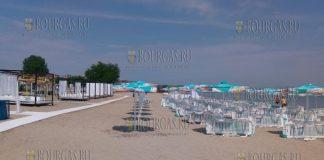 пляж Крайморие в Бургасе