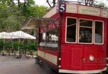 В Морском саду Бургаса появился трамвай №5