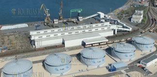 В порту Бургаса открыли новый терминал по обработке и хранению серной кислоты