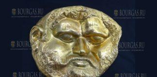 золотая посмертная маска царя Тереса, будет показана в Ночь музеев в Бургасе