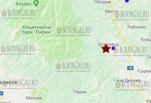18 июня 2018 года, землетрясение в Болгарии