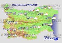 29 июня 2018 года, погода в Болгарии