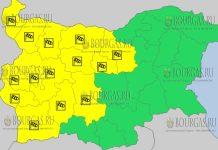 30 июня 2018 года в Болгарии - ветреный Желтый код опасности