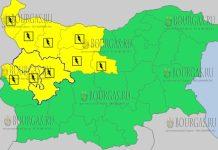 9 июня 2018 года - дождливый и грозовой Желтый код в Болгарии