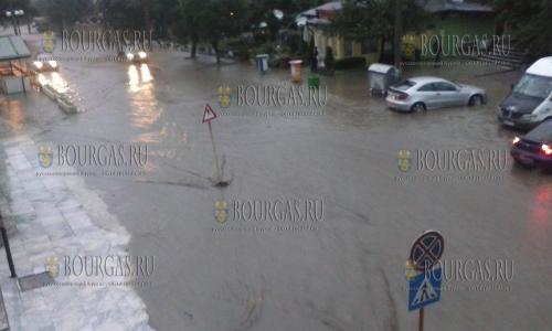 буря в Софии 18 июня 2018 года