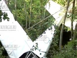 На авиашоу в Казанлыке в Болгарии упал легкомоторный самолет