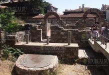 в Археологическом музее в Созополе выставка - Аполлония Понтийская - по следам археологов