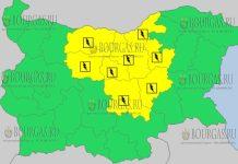 10 июля 2018 года в Болгарии - дождевой и грозовой Желтый код опасности