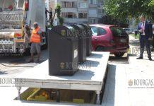 сбор мусора в Несебре