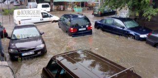 улицы Варны после ливней 26 июля 2018 года