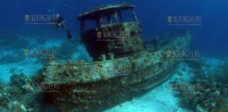 В Болгарии обнаружили затонувший корабль,