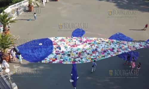 В Бургасе появится 25-метровая рыба из пластиковых пакетов