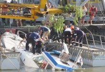 В порту Созополя упал 80-тонный кран