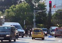 19 августа 2018 - на перекрестке в Солнечном Берегу насмерть сбили пешехода