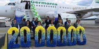 В аэропорту Варны встретили 2-миллионного пассажира