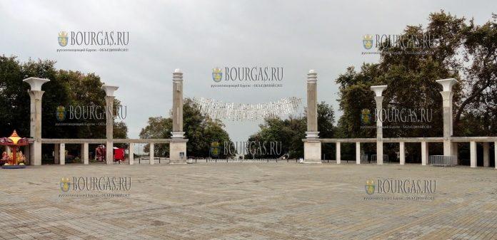 Варна, Приморский парк - площадь Антон Новак