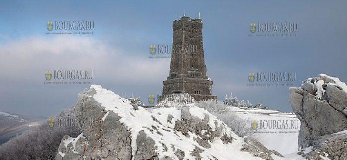 На Шипке выпал первый снег