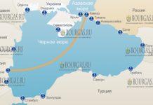 порт Кавказ в Краснодарском крае РФ соединит паромная переправа с Варной