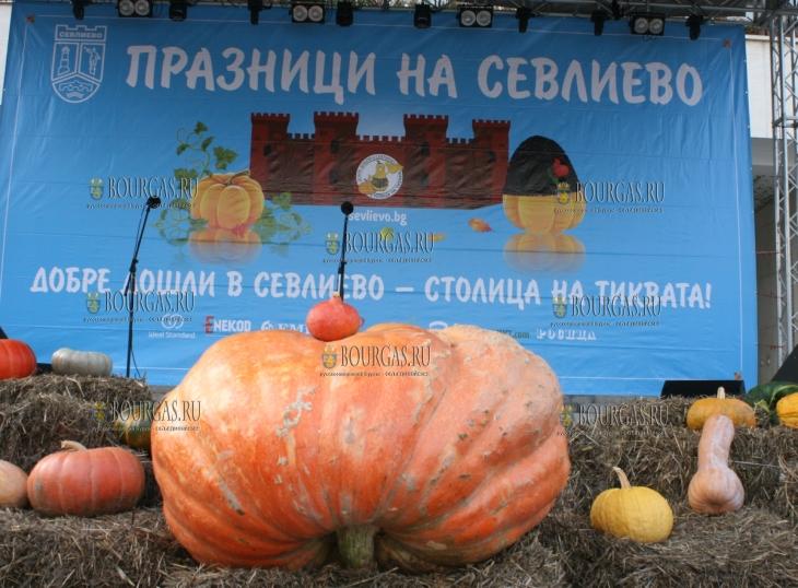 Тыквенный фестиваль в Севлиево Болгария октябрь 2018