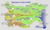 16 ноября 2018 года, погода в Болгарии
