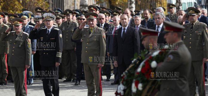 Румен Радев почтил память болгарских солдат, погибших, как в военное, так и в мирное время