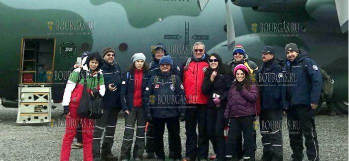 11 болгар прибыли в Антарктиду