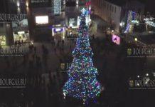 главная рождественская елка Бургаса 2018