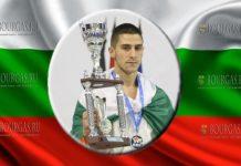 Кристиян Дойчев чемпион Европы по киокушин карате 2018