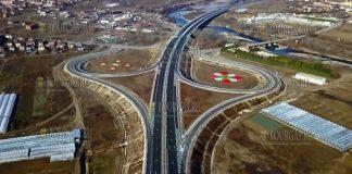 На скоростной автомагистрали Струма заработала еще одна развязка между городами Кресна и Сандански