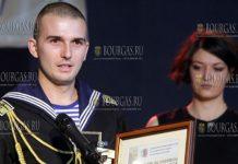 Студент года в Болгарии был удостоен курсант Высшего военно-морского училища им. Николы Вапцарова - Петр Генов