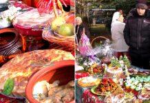 в Димитровграде на Юге Болгарии прошел VII-й по счету фестиваль Рождественская трапеза