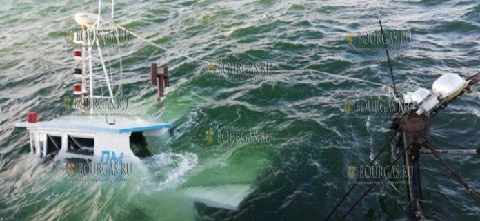 В порту Поморие затонула рыбацкая лодка
