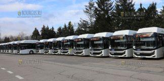В Софии на маршруты 30 новых муниципальных автобусов
