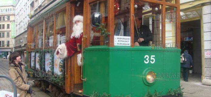 В Софии на Рождество будет курсировать ретро-трамвай