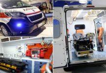 В Софию прибыли первые новые авто Скорой помощи