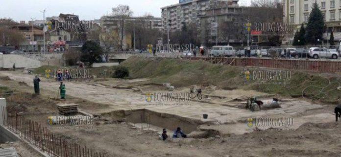 В центре Пловдива нашли древнеримскую улицу