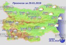 29 января 2019 года, погода в Болгарии